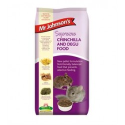 Mr. Johnsons Supreme Chinchilla & Degu foderpiller 20 kg