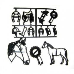 Patchwork Cutter Horse Set